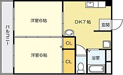 依田ビル[3階]の間取り