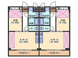 メゾン積[3階]の間取り
