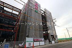 千葉県流山市東初石5丁目の賃貸マンションの外観