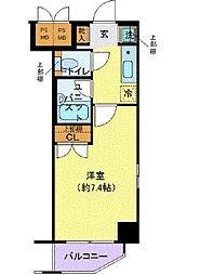 東京都千代田区外神田1丁目の賃貸マンションの間取り
