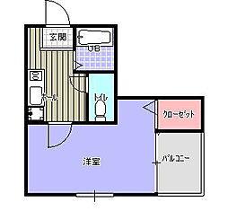 ライフステージ5[3階]の間取り