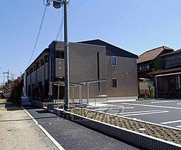 京都府八幡市川口馬屋尻の賃貸アパートの外観