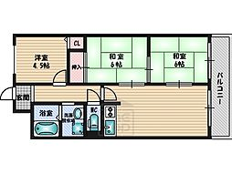 服部天神駅 6.5万円