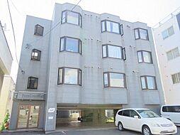 北海道札幌市白石区本通14丁目南の賃貸マンションの外観