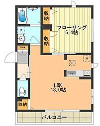 (仮)昭島市中神町シャーメゾン[101号室]の間取り