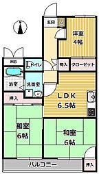 サライ[2階]の間取り