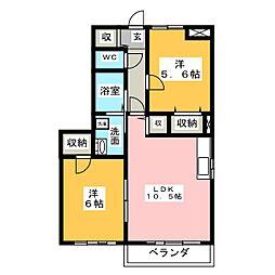 井野駅 5.5万円