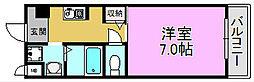 カーライル堺市駅前[5階]の間取り