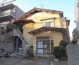 京都府京都市左京区一乗寺南大丸町の賃貸アパートの外観