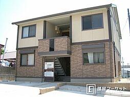 愛知県岡崎市大平町字上下りの賃貸アパートの外観