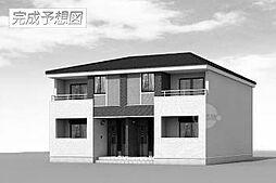 滋賀県甲賀市水口町京町の賃貸アパートの外観
