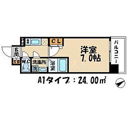 エスリード大阪城公園[11階]の間取り