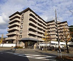 京都府京都市左京区上高野西氷室町の賃貸マンションの外観