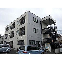 埼玉県草加市北谷3丁目の賃貸マンションの外観