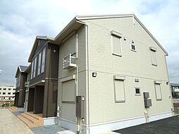 静岡県裾野市富沢の賃貸アパートの外観
