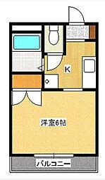 トラッドハウス[0101号室]の間取り