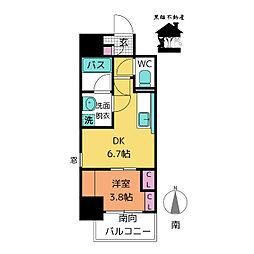 ポルタニグラ大須[5階]の間取り