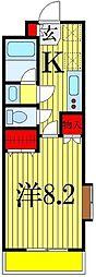 レオ弐拾弐番館[2階]の間取り