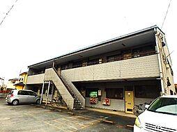 埼玉県北本市宮内2の賃貸アパートの外観