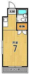 バルーンクラブ2[4D号室]の間取り