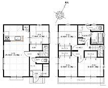 「建築条件なし」の土地だから叶う家族の夢のマイホーム参考プランもご用意しております。