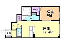 中央図書館前駅 6.0万円