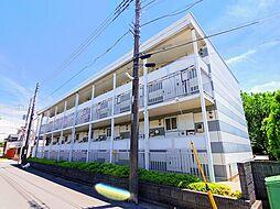東京都清瀬市中清戸5丁目の賃貸アパートの外観