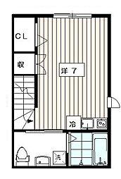 コート・ティアラ[1階]の間取り