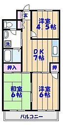 ドミール鈴木[2階]の間取り