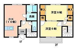プレタメゾン弐号館[2階]の間取り