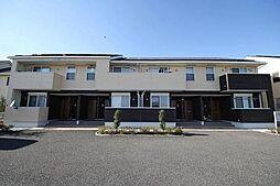 群馬県高崎市箕郷町矢原の賃貸アパートの外観