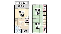 [一戸建] 兵庫県川西市松が丘町 の賃貸【/】の間取り
