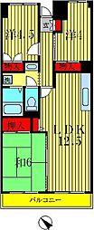 サンフラワーマンション[6階]の間取り