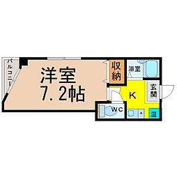 七福堂マンション[4階]の間取り