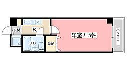 四ノ宮コート[216号室]の間取り