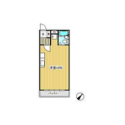 シェトワ上郷[1階]の間取り