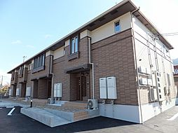 広島県東広島市八本松西1丁目の賃貸アパートの外観
