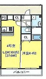 Victorian Court Makuhari[2階]の間取り