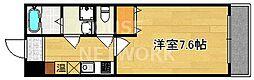 サニーハイツII[4-D号室号室]の間取り
