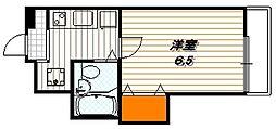 甍・林治ビル[205号室]の間取り
