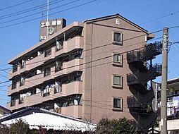 ニュー松戸コーポE棟[6階]の外観