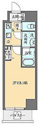 東京メトロ丸ノ内線 御茶ノ水駅 徒歩11分の賃貸マンション 5階1Kの間取り