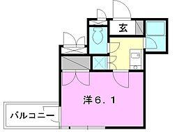 サンライズ豊坂[208 号室号室]の間取り
