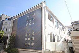 埼玉県川口市東川口3丁目の賃貸アパートの外観