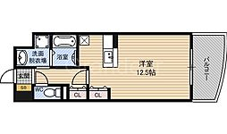 モン・ピエース[4階]の間取り