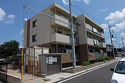 滋賀県野洲市市三宅の賃貸マンションの外観