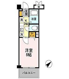 クレール加茂[3階]の間取り