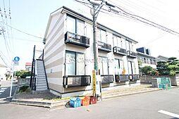 東京都町田市金森2丁目の賃貸アパートの外観