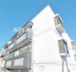 神奈川県横浜市鶴見区岸谷3丁目の賃貸マンションの外観