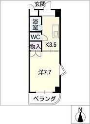 スワン寿[2階]の間取り